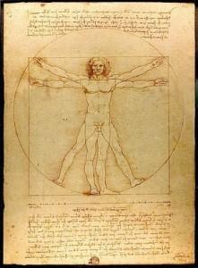 Omul Vitruvian - Leonardo da Vinci