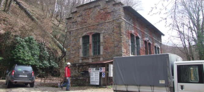 Breazova Micro Hydro Power-station, Built in 1916